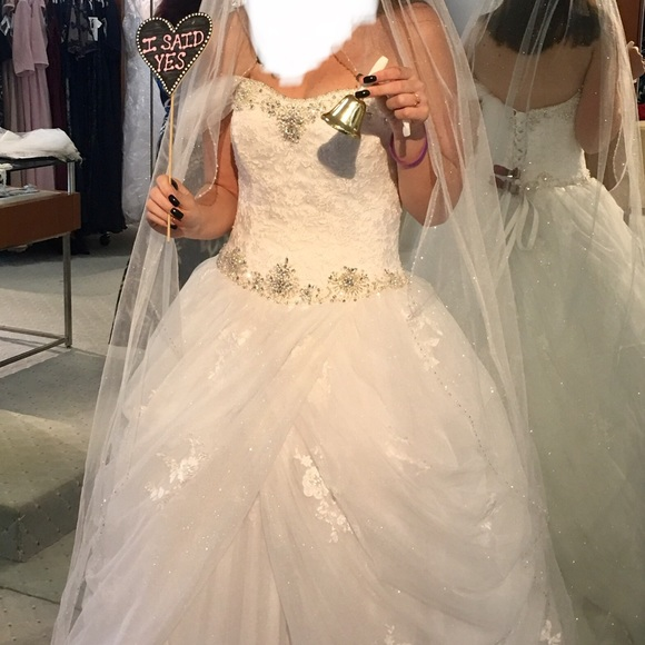 Alfred Angelo Dresses & Skirts | Alfred Angelo Disney Belle Wedding ...